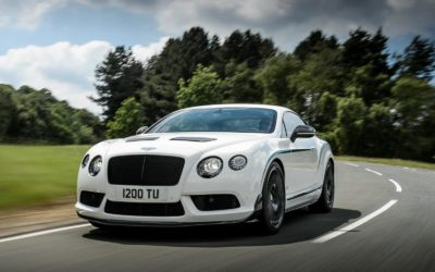Bentley Introduced the 570-hp Continental GT3-R track coupe