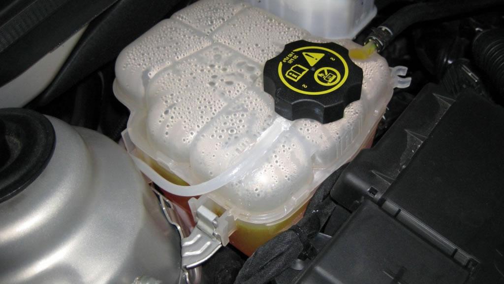 engine coolant bottle