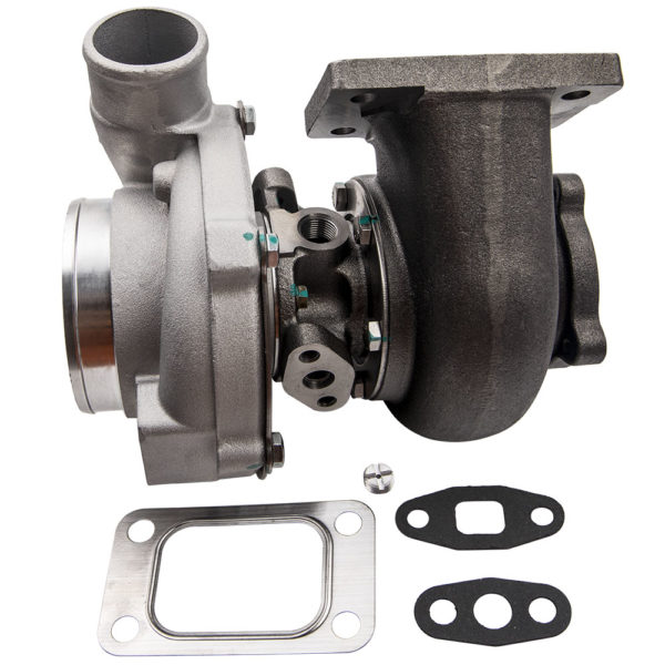 Street Type GT30 GT3037 GT3076R T3 Flange Turbo Turbocharger Water Oil Cooled A/R 0.6 0.82