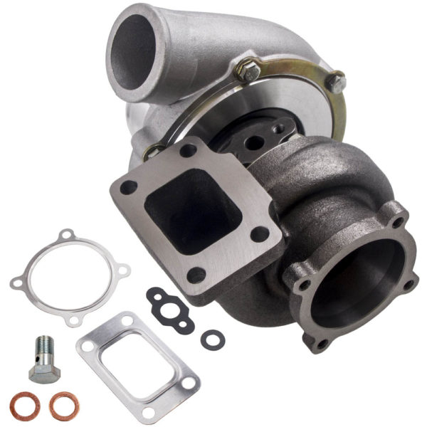 Street Turbocharger Anti Surge GT3582 Turbo GT35 T3 Flange Water Cooled Turbocharger Turbolader