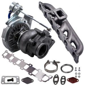Turbo For Nissan Safari Patrol 4.2L TD42 GQ GU Y61 t3 w/ engine Exhaust Manifold