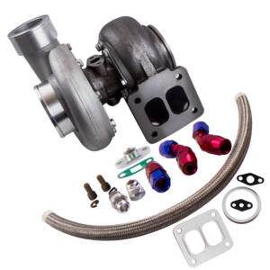 GT45 T4 V-BAND 1.05 A/R 92MM 600+HPS Boost Turbo Charger w/ Oil Return Line kits