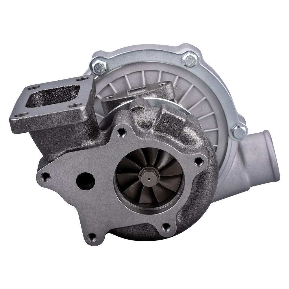 Hybrid T3 / T4 Turbocharger KIT +  Downpipe (1.5L - 2.5L Engines)