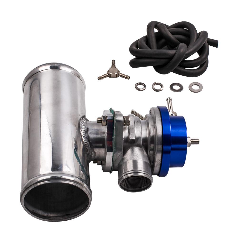 GT45 Turbocharger Kit + Oil Feed and Return Line + BOV Adapter
