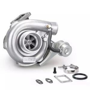 T3 T4 Turbo .63 A/R Oil Hybrid V Band Universal Turbocharger